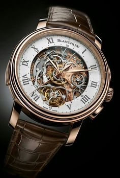 Blancpain Carrousel Minute Repeater Chronograph: First Watch With All Three Complications Together http://amzn.to/2sqEwBW