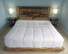 King Size: Detailed SketchUp Plans And Step By Step Instructions On How To  Build Your Own DIY Platform Bed. Includes Pictures And Tips From My Own DIY  ...