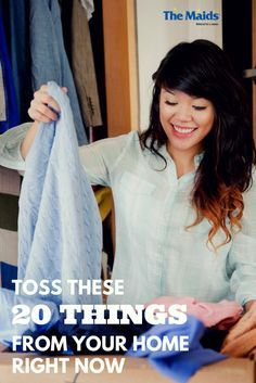 When clutter takes over and stresses you out, it's best to attack it in one fell swoop. Here are twenty items you have your house right now that you don't need. Grab a laundry basket or a large box and get ready to feel a lot better about life. It's easier than you think.