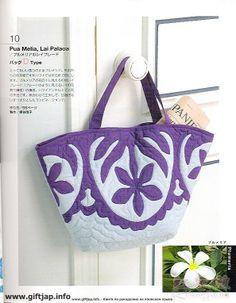 Hawaiian Quilt Bag ideas