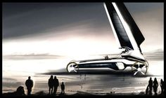 The VW Auriga Land Yacht Lets You Travel by Wind on Terra Firma #eco trendhunter.com
