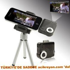İphone için üretilmiş en müthiş Cihaz!     İphone Mini Projektör