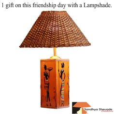 On this ‪#‎friendship‬ ‪#‎day‬ with a ‪#‎Design‬ ‪#‎Lampshades‬ ...just try once it will make u happy..www.sandhyashevadecreations.com