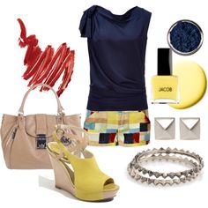 Primary colors, created by luchenskil on Polyvore