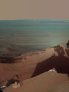 Mars Rover Opportunity | Shadow over Mars: Nasa's Rover Opportunity 'sees itself' as it looks ...