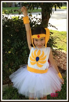 She ra costume with cape and tutu by kidzygifts - just translate into adult Super Hero Tutu, Super Hero Costumes, Cool Costumes, Costume Ideas, Cosplay Ideas, Holidays Halloween, Halloween Party, Halloween Costumes, Halloween Ideas