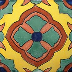 Arabic Mexican tile green terracotta You are in the right place about Tropical . - Arabic Mexican tile green terracotta You are in the right place about Tropical decor centerpieces - Mexican Tile Kitchen, Mexican Tiles, Mexican Style Homes, Mexican Ceramics, Unique Tile, Tropical Decor, Tropical Pool, Traditional Decor, Centerpiece Decorations