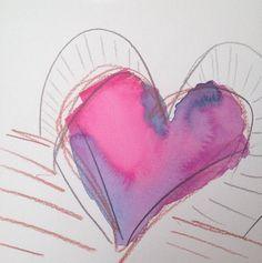 Heart art. . . . #abstractpainting #seattleartist #krystyphyr #contemporaryart #paintingoftheday #artoftheday #impressionism #expressionism #fineart #oilpainting #watercolor #sketchbook #canvaspainting #beautifulart #storytelling #palette #heartart #gallerywall #paletteknife #artporn #coloraddict #coloremotion #dailygratitude #doodleoftheday