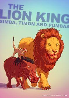 The Lion King BADASS by Tohad.deviantart.com on @deviantART