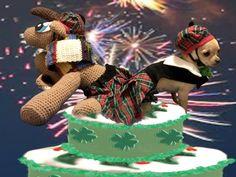 Muñequita goes Irish!  ...along with Doctor Who Pony!