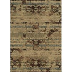 Rizzy Home Ivory Rug In Polypropylene 5'3 inch x 7'7 inch