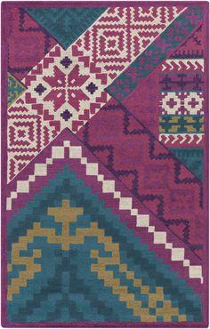 tigris, #surya. TGR-5000. 100% wool. hand tufted. plush pile. india.