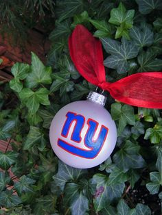 New York Giants Christmas Ornaments, Stocking, Tree Topper ...