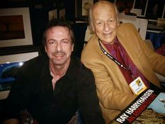 Clive Barker and Ray Harryhausen