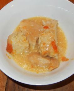 3 ingredient chicken. chicken, ranch dressing, apricot preserves. Fast PREP, long cook time.