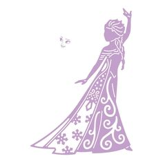 Disney Frozen Elsa Die & Face Stamp, Metal, Silver, x x cm Disney Fantasy, Disney Art, Frozen Silhouette, Princess Silhouette, Elsa Frozen, Frozen Cricut, Mickey Mouse And Friends, Frozen Birthday, Cricut Creations