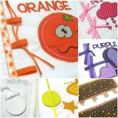 Colors Cloth Book. Children Quiet Fabric Book. by SmartArtCrafts