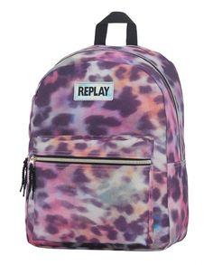 162RPG702.90 web Der Leopard, Replay, Cool Backpacks, Jansport Backpack, Fashion Backpack, Zip Ups, Laptop, Pink, Bags
