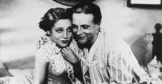 """Käthe von Nagy (1904-1973) und Willy Fritsch (1901-1973) in """"Ich bei Tag und Du bei Nacht"""" (1932). Eine sehr vergnügliche Verwechslungskomödie."""