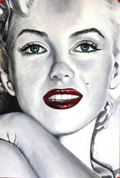 Marilyn in Fashion: The Enduring Influence of Marilyn Monroe Marilyn Monroe Dibujo, Marilyn Monroe Drawing, Marilyn Monroe Tattoo, Marilyn Monroe Photos, Marylin Monroe, Pencil Portrait Drawing, Blood Art, Norma Jeane, Beauty Art