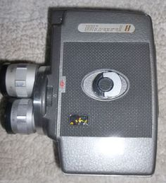 vintage Wizard II antique movie camera with triple turrets #Wizard