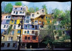The Hundertwasser House, I do have to go see this once.