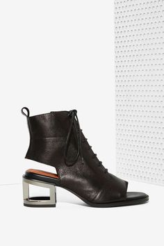 Jeffrey Campbell Mancuso Leather Bootie Visit www.TheLaFashion.com for more  Fashion insights and 553403e0c