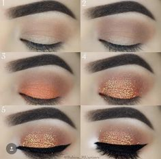 Gorgeous Makeup: Tips and Tricks With Eye Makeup and Eyeshadow – Makeup Design Ideas Natural Eye Makeup Step By Step, Eye Makeup Steps, Simple Eye Makeup, Natural Makeup, Mac Makeup, Skin Makeup, Eyeshadow Makeup, Eyeliner, Makeup Brushes