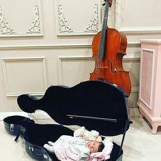 Ig (Instagram) #cello #violoncelo #violoncelle #baby #cute