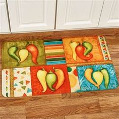 Red Hot Chili Pepper Wooden Wall And Key Hook Organizer