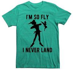 Peter Pan Men's Peter Pan® I'm So Fly I Never Land T-Shirt