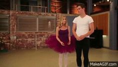 Dance Academy gifs | dance academy da ben tickle grace whitney animated GIF
