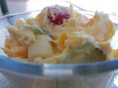 24 Hour Fruit Salad from Food.com: This is a wonderful salad that is easily adaptable, and can be served as a salad with a holiday meal or as a dessert. The original recipe called for canned fruit cocktail,