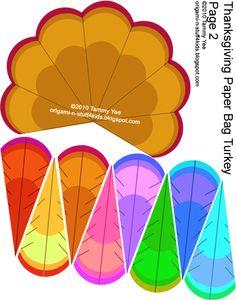 paper bag crafts | ... Stuff 4 Kids: Thanksgiving: Giving Thanks Paper Bag Turkey Craft