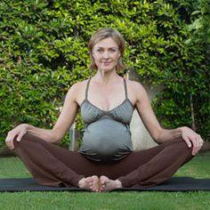 Prenatal Yoga Poses | Desperate Housewives Brenda Strong