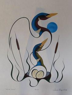 My Favorite Artist ,Benjamin Chee Chee ! Aboriginal Artwork, Aboriginal Artists, American Indian Art, Native American Art, Haida Art, Inuit Art, Indigenous Art, Canadian Artists, Native Art