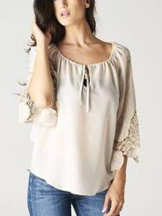 Ivory Crochet Sleeve
