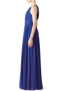 Corundum Sapphire Gown by Badgley Mischka