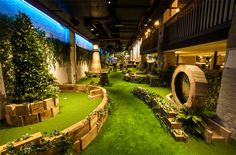 Crazy golf pop-ups are everywhere in London at the moment. But you know how many permanent crazy golf drinking venues there are in the city? Zero. Zilch. Zip