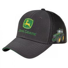 John Deere Equipment Woven Label Cap - Hats - Men's   RunGreen.com