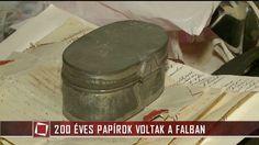 TÉNYEK / 200 éves papírok voltak a falban / tv2.hu