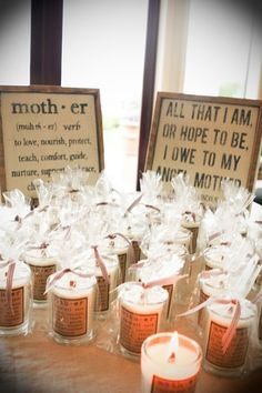 Mothers' day party favors?