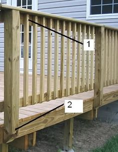 porch hand rails - Google Search