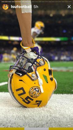 my family is a huge lsu fan Lsu Tigers Football, Sec Football, Football Gear, Alabama Football, Football Season, American Football, Football Players, Football Helmets, Collage Football