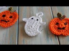 Happy Berry Crochet: Free Halloween Crochet Ghost and Pumpkin Bunting Pattern