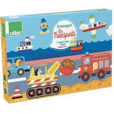 !!!!!! Vilac - Układanka Magnetyczna Creamagnet w Walizce Pojazdy Puzzle, Baby Toys, Toy Chest, Transportation, Presents, Kids Rugs, Storage, Ideas, Learning Games