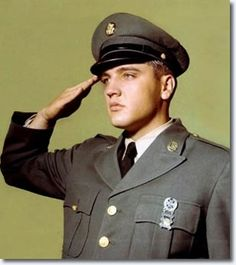 Image result for elvis presley military images