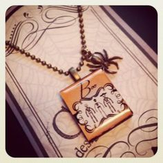 Halloween necklace giveaway from Chabot Designs