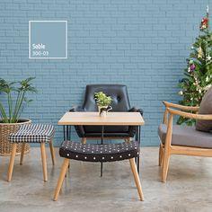 Combinar tus muebles de madera con tonos neutros en tus muros, le dará sofisticación a tus espacios. ¡Lucirán increíbles! Interior Architecture, Interior Design, Outdoor Furniture Sets, Outdoor Decor, Fashion Room, Color Pallets, Colorful Interiors, Home Office, Sweet Home