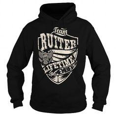 Cool Last Name, Surname Tshirts - Team RUITER Lifetime Member Eagle Shirts & Tees